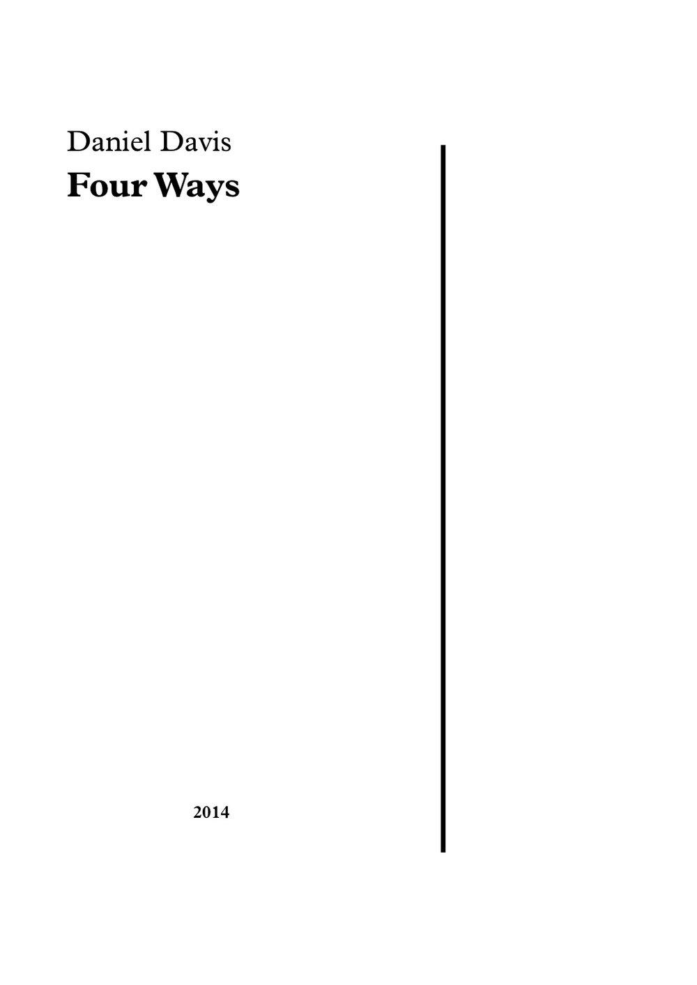 Four Ways (2014)