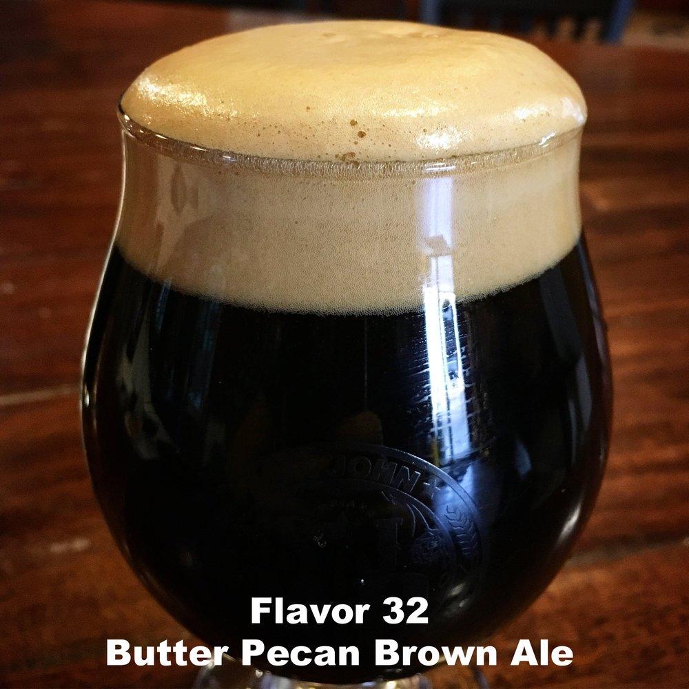 Flavor 32 - Butter Pecan Brown Ale