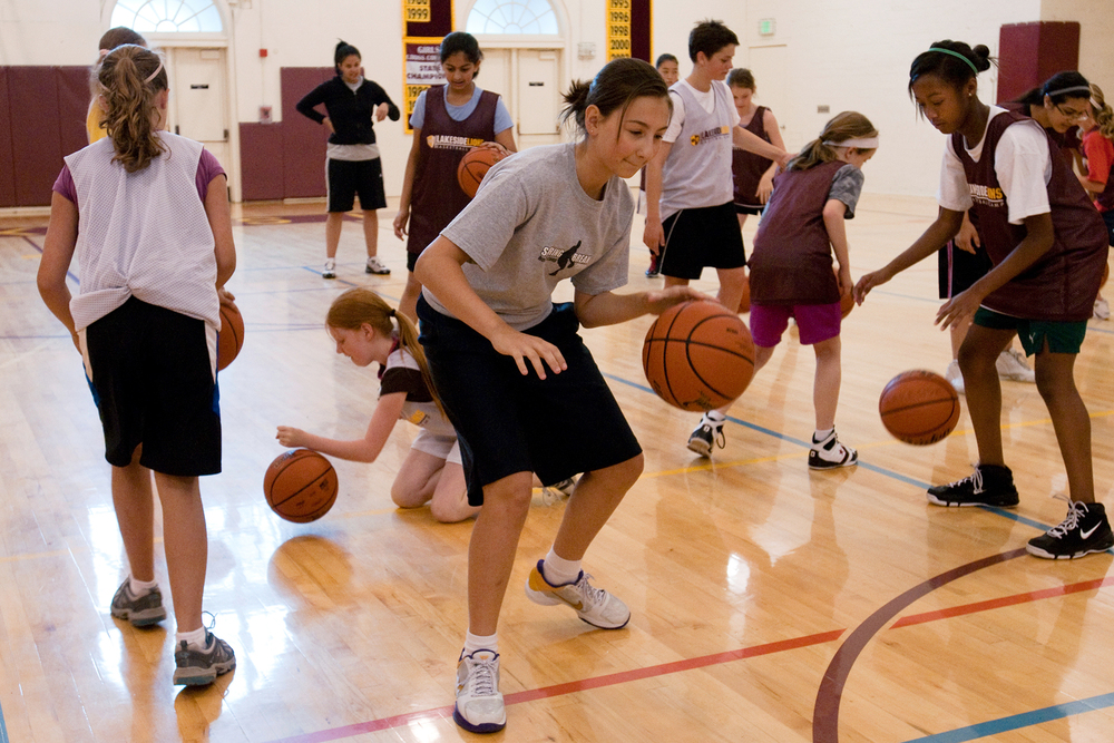 Summer basketball camp, Lakeside School