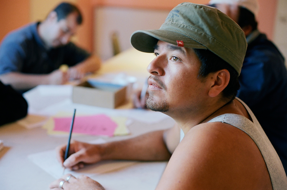 Day workers learn English at Casa Latina, United Way of King County