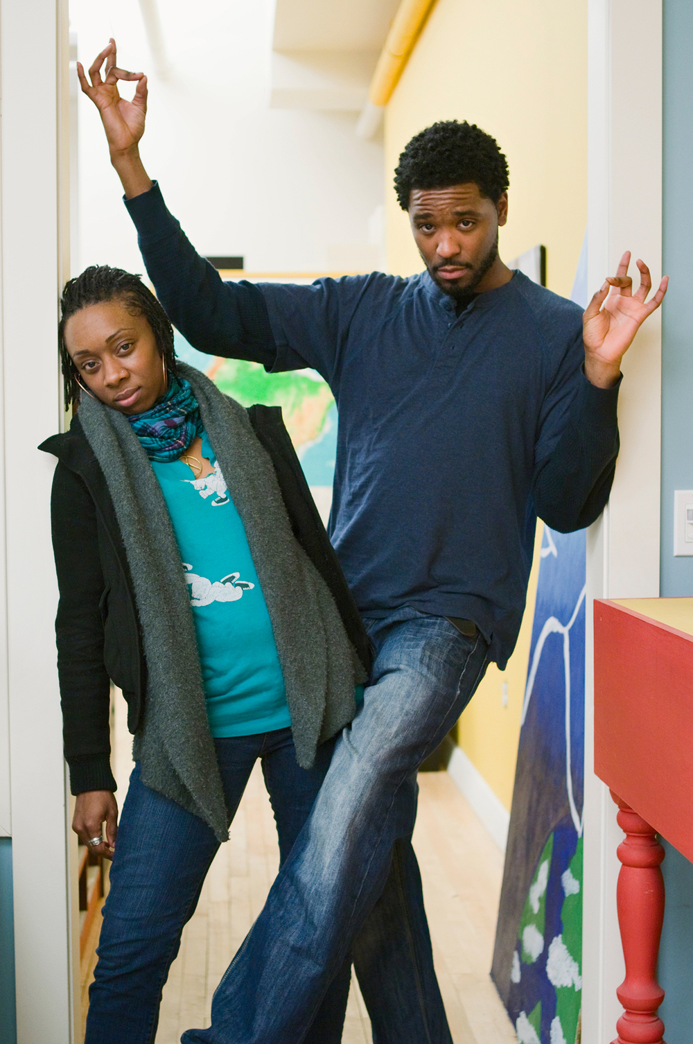 Hip Hop dance teaching artists, Arts Corps