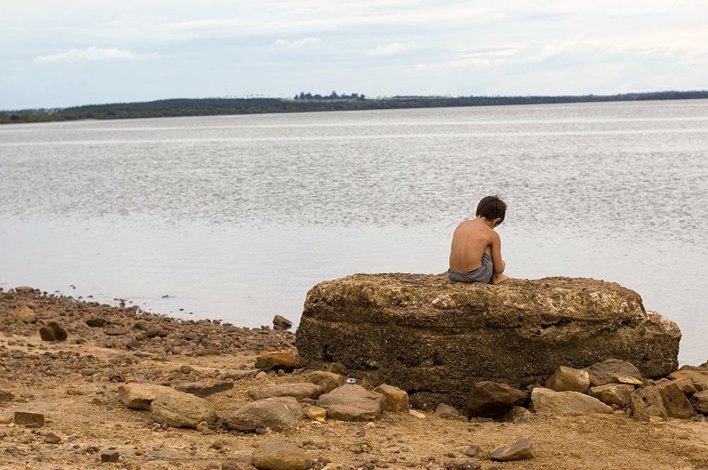 Looking at Uruguay from Parque Nacional El Palmar, Entre Rios, Argentina 2007 ©Stefanie Felix