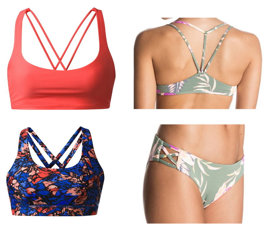 Free to Be Swim Top  //  Energy Swim Top  //  Roxy Swim Top & Bottom