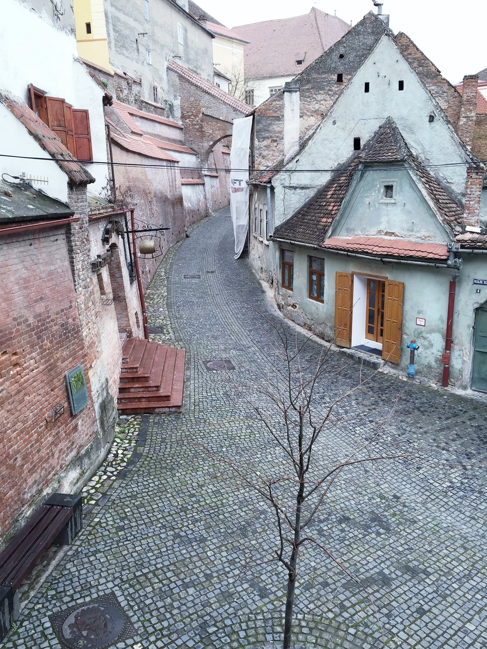 sneek peak of Sibiu