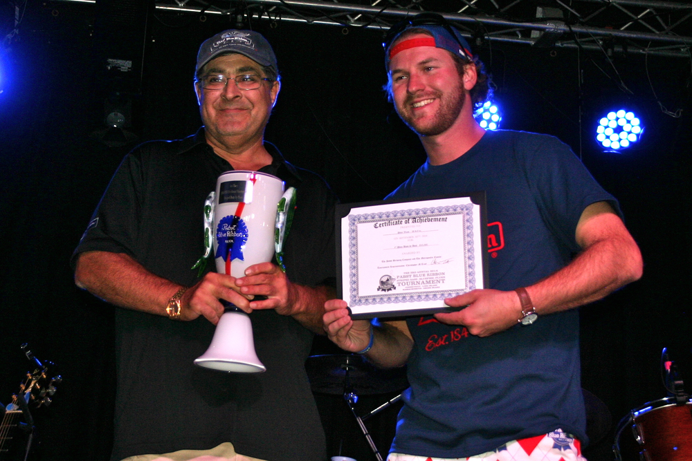 Peter Vican, 1st place Bass by Boat with Chris Trott from PBR