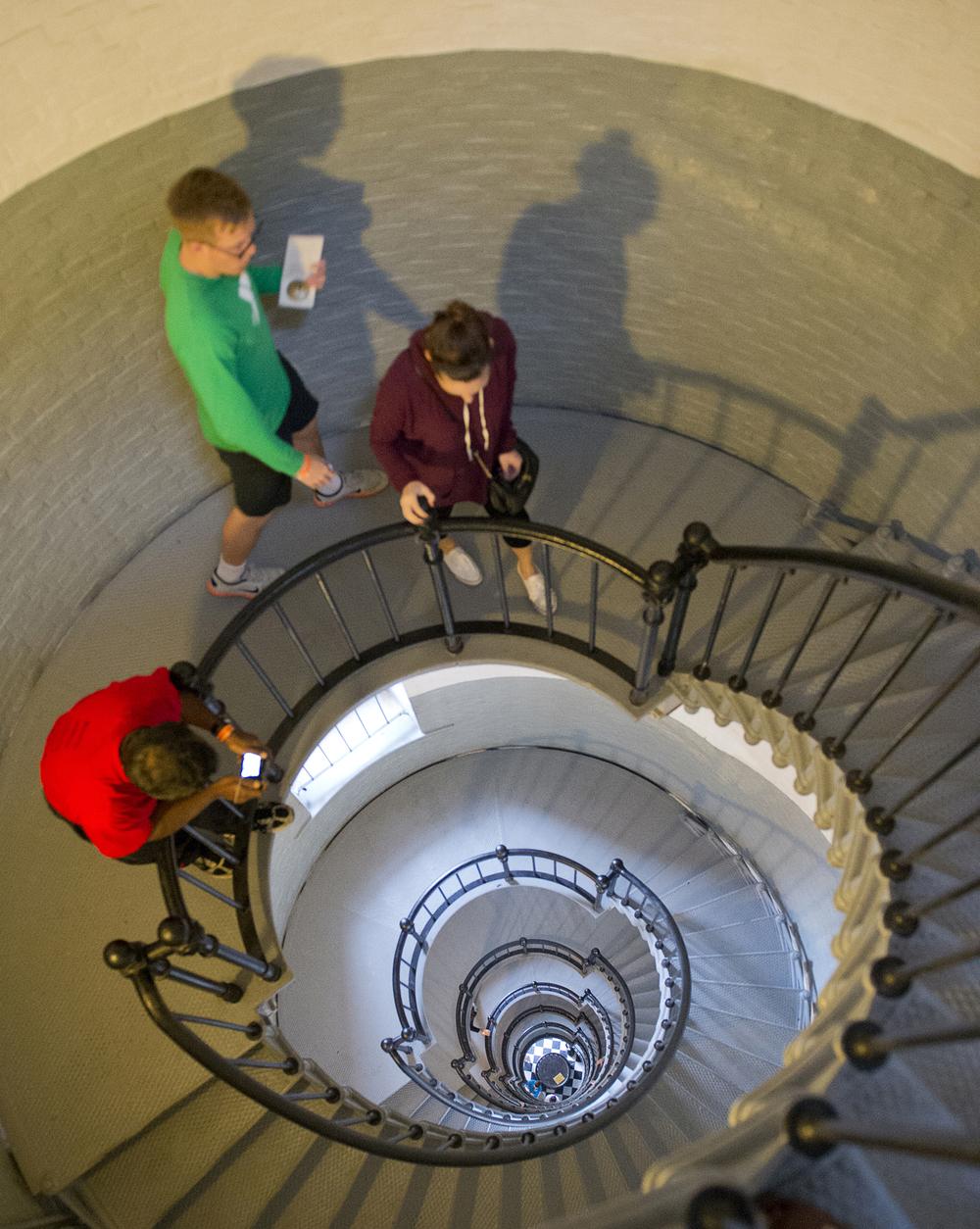 A walk up the spiral