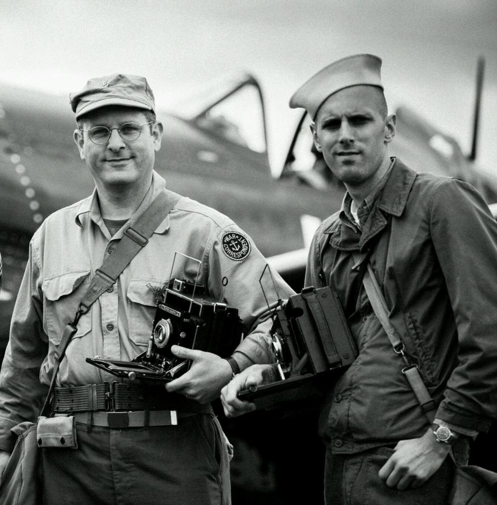 War Correspondent and the Navy Photographer