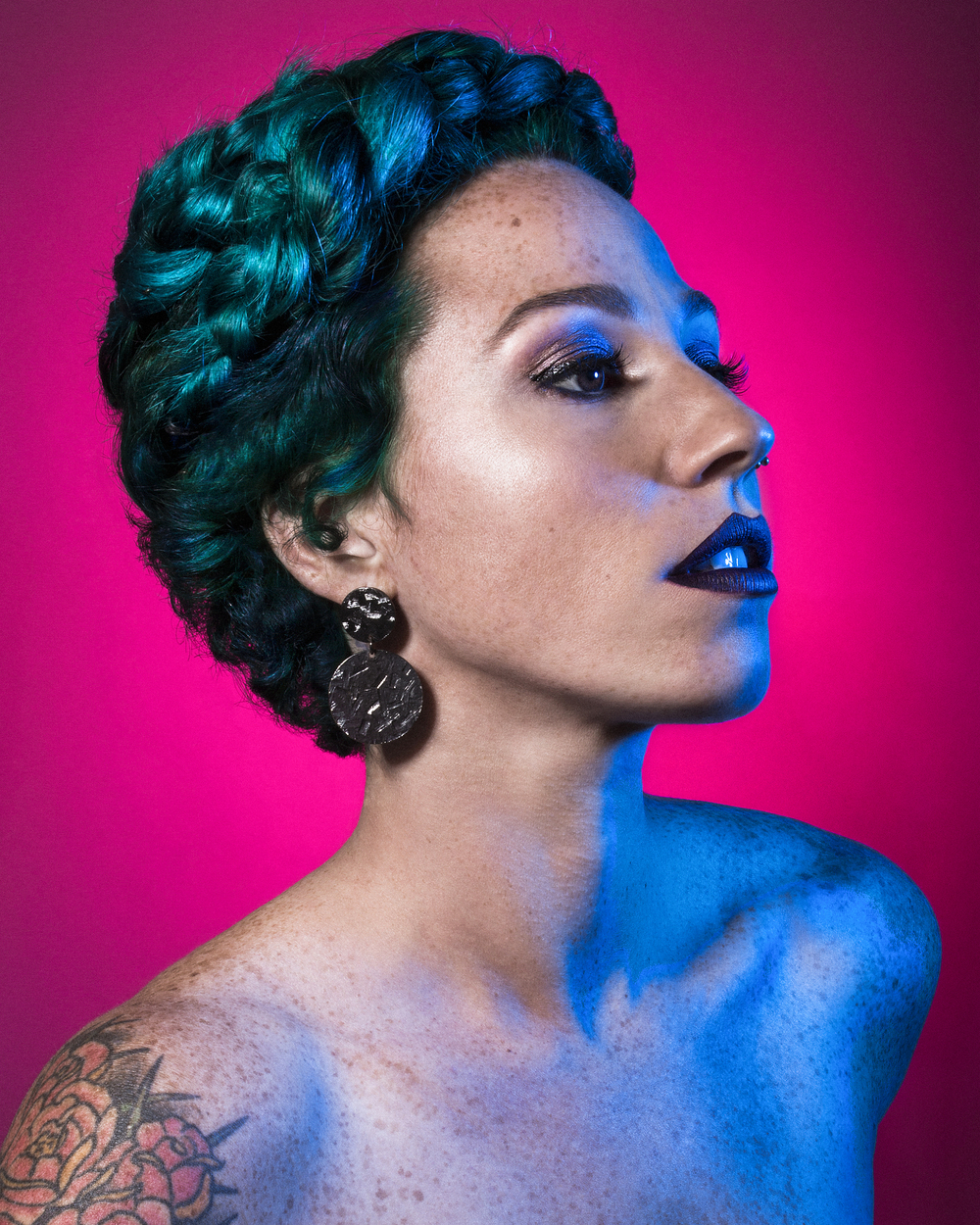 Photographer: Lo Garcia Photography  HMUA: Moi  Model: Nicole Suarez