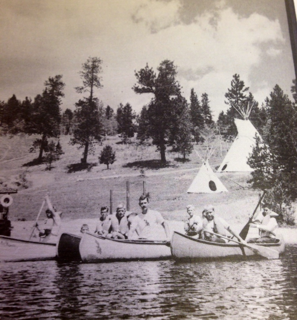 Early boys camp. Photo curtesy of The Navigators Archives.