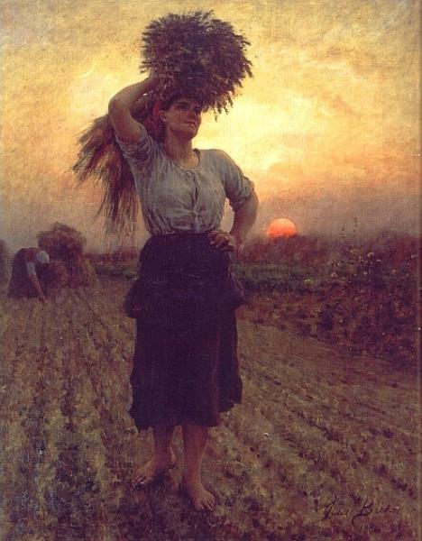Jules Breton - Harvesters