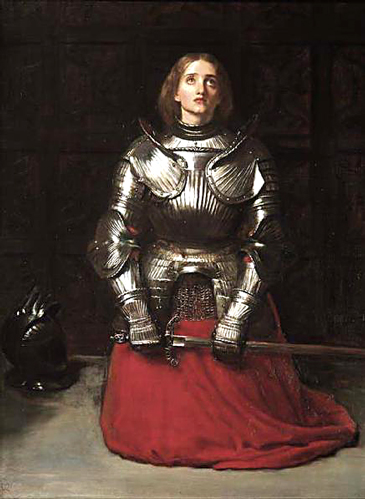 """Joan of Arc"" by Sir John Everett Millais"