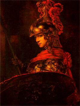 """Athena Pallas"" by Rembrandt"
