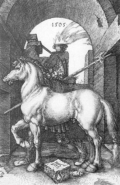 390px-Dürer_-_Das_kleine_Pferd