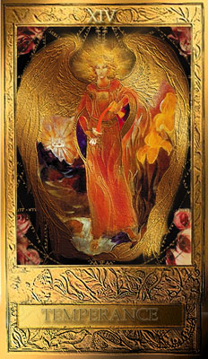 Temperance from the Dorothy Krause Millenium Tarot
