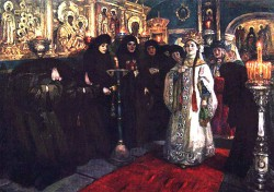 Painting by Vasily Surikov