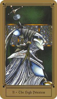 """The High Priestess"" from The Fantastical Tarot by Nathalie Hertz"