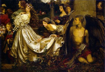 Painting by Eleanor Fortescue Brickdale