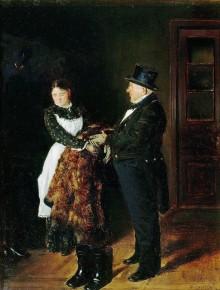 Painting by Vladimir Makovsky