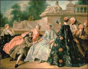 Painting by Jean François de Troy