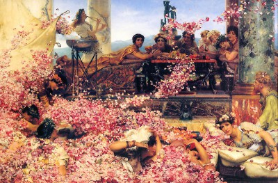 """The Roses of Heliogabalus"" by Sir Lawrence Alma-Tadema"