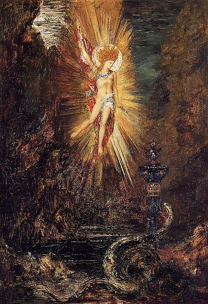 Painting by Gustave Moreau