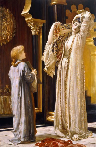 Picture by Frederick Lord Leighton
