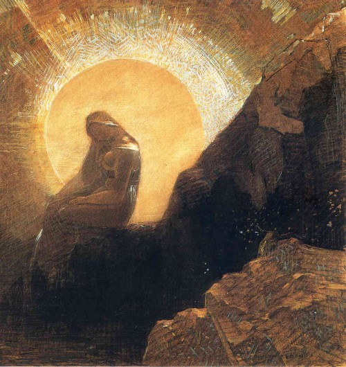 Painting by Odilon Redon