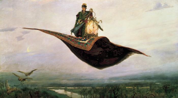 Painting by Viktor Mikhailovich Vasnetsov
