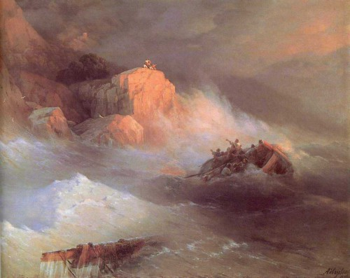 Painting by Ivan Aivazovsky