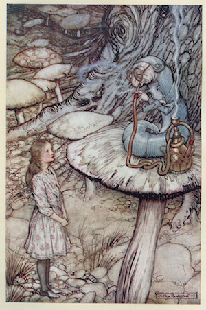 Picture by Arthur Rackham