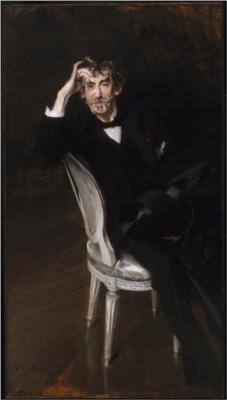 Portrait of James McNeill Whistler - Giovanni Boldini