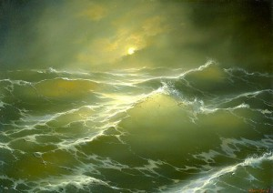 Painting by Hovhannes Aivazovsky
