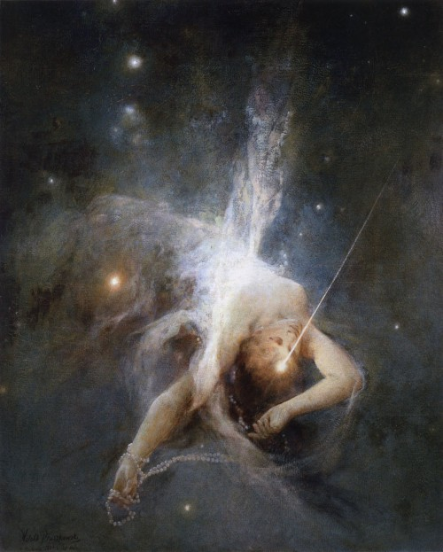 """Falling Star"" by Witold Pruszkowski"