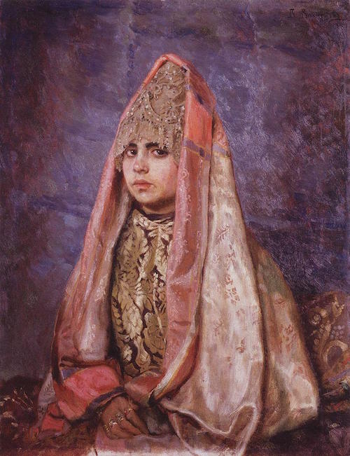Painting by Viktor Vasnetsov