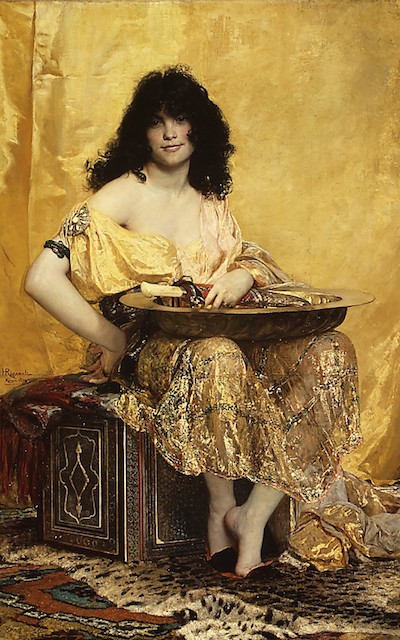 """Salomé"" by Henri Regnault"