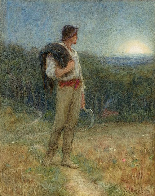 By Helen Allingham (1848 - 1926) - The Bridgeman Art Library, Object 283763, Public Domain, https://commons.wikimedia.org