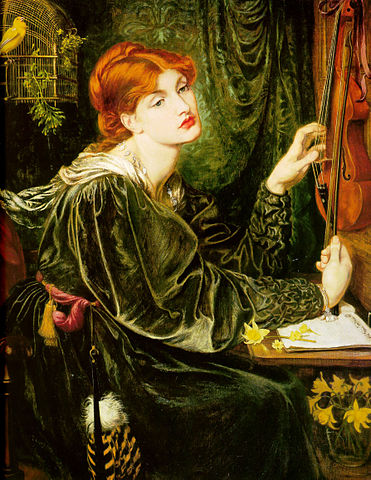 By Dante Gabriel Rossetti - Art Renewal Center – description, Public Domain, https://commons.wikimedia.org
