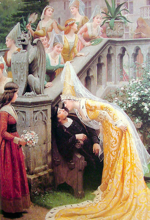 By Edmund Leighton - Art Renewal Center Museum, image 13496., Public Domain, https://commons.wikimedia.org