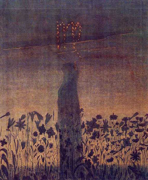 By Mikalojus Konstantinas Čiurlionis - Grigas, Osvaldas. The Zodiac. M.K.Ciurlionis Painting Gallery. Vilnius Lyceum. Public Domain, https://commons.wikimedia.org
