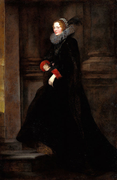 "By Anthony van Dyck (1599-1641) ""Marchesa Geronima Spinola"" -Public Domain, https://commons.wikimedia.org"