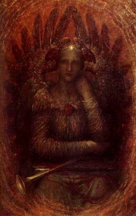 "George Frederic Watts, ""The Dweller in the Innermost ,"" 1885, Public Domain, https://commons.wikimedia.org"