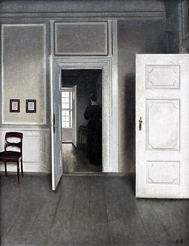 Vilhelm Hammershøi -  Public Domain, https://commons.wikimedia.org
