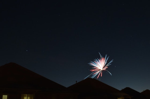 July 7th, 2017: Earth and Fireworks