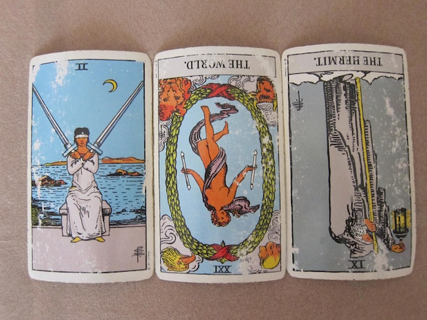 Tarot Cards for the New Moon Eclipse in Leo