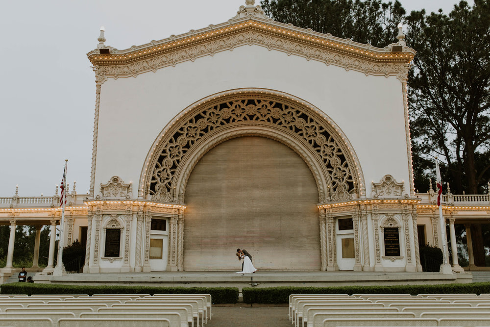Balboa Park Wedding in San Diego // Paige + Tyler