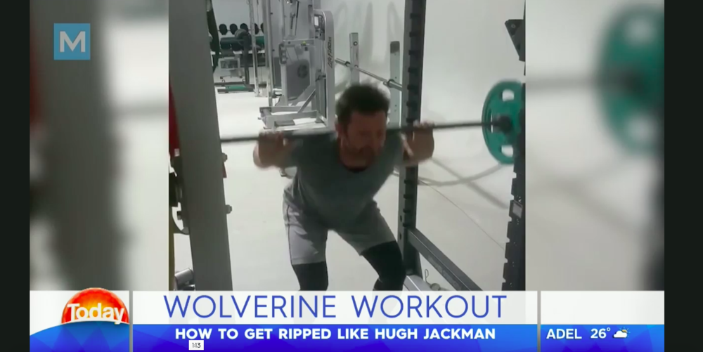 Dieter trained Hugh Jackman for his role in Logan. Learn about his fitness and nutrition routine by watching our interview on The Today Show.
