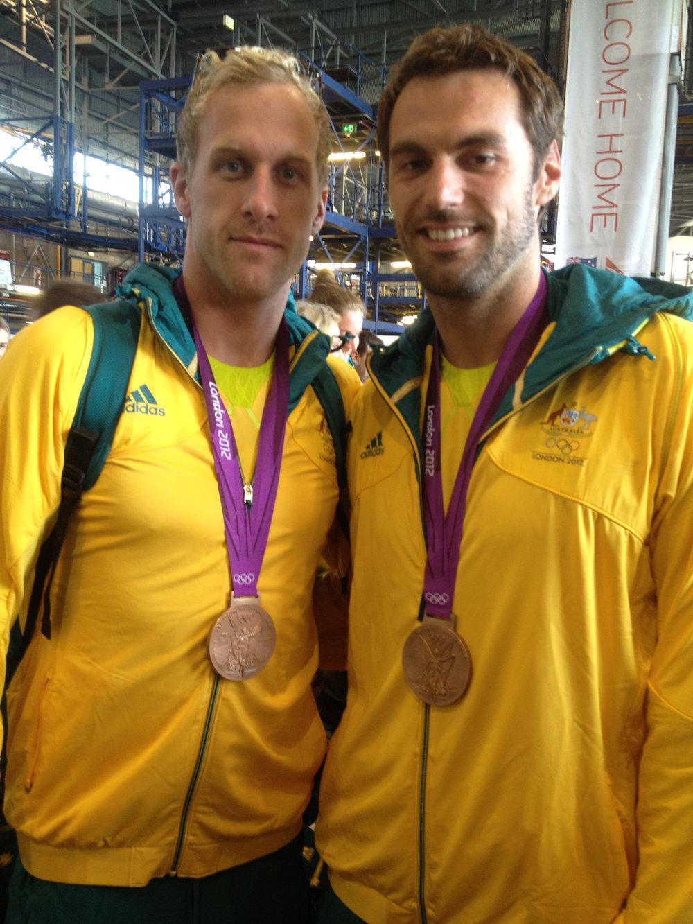 Matt Targett & Hayden Stoeckel - 2012 Olympic Medalists