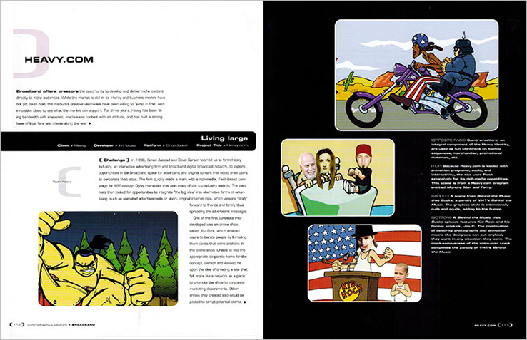 Book Design Portfolio: Media design book: Convergence Design