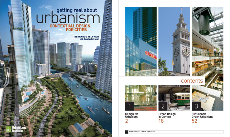 Book Design Portfolio: Architecture, Urban Development Book: Getting Real About Urbanism