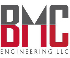 Logo and Identity Design Portfolio: BMC Engineering Logo.